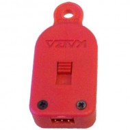 327030 V-Line Red Key Fob/Programming Key for 6912-SE Narcotics Box
