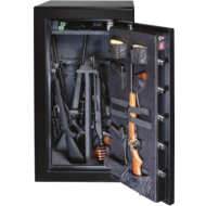 Gardall BGF6030 22 Gun UL Rated Fire/RSC Burglar Safe, Door Organizer - Open