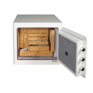 Open Gardall JS1718 Boltable Jewelry Safe with Re-Locking and 10 Drawers